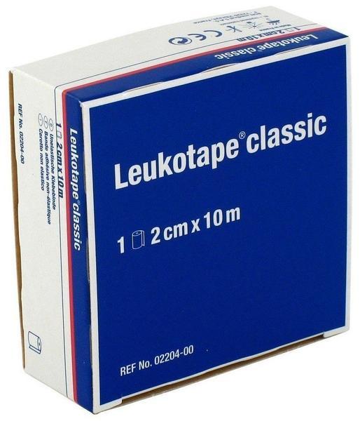 BSN Medical Leukotape Classic Einzelrolle in Faltschachtel 2 cm x 10 m weiß
