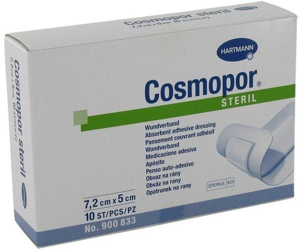 Hartmann Cosmopor Steril 5 x 7,2 cm (10 Stk.)