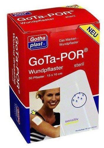 Gothaplast Gota-Por Wundpflaster 150 x 100 mm Steril (50 Stk.)