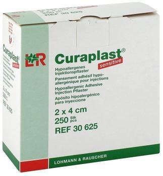 Lohmann & Rauscher Curaplast Sensitiv Injektionspflaster 2 x 4 cm (250 Stk.)