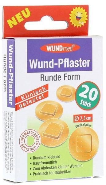 Axisis Wund Pflaster Rund 2,5 cm (20 Stk.)