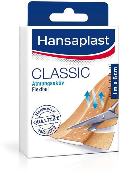 Hansaplast Classic Streifen 6 cm x 1 m