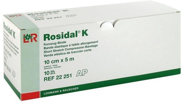 Lohmann & Rauscher Rosidal K Binde 10 cm x 5 m (10 Stk.)
