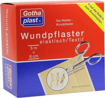 Gothaplast Wundpflaster Elastisch 6 cm x 5 m Rolle