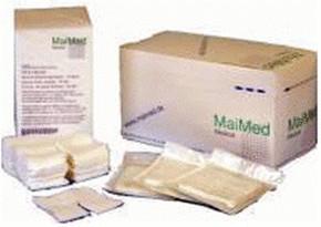 MaiMed Schlitzkompressen 5 x 5 cm 12 fach steril (50 x 2 Stk.)