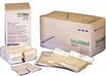 MaiMed Schlitzkompressen 7,5 x 7,5 cm 12 fach steril (50 x 2 Stk.)