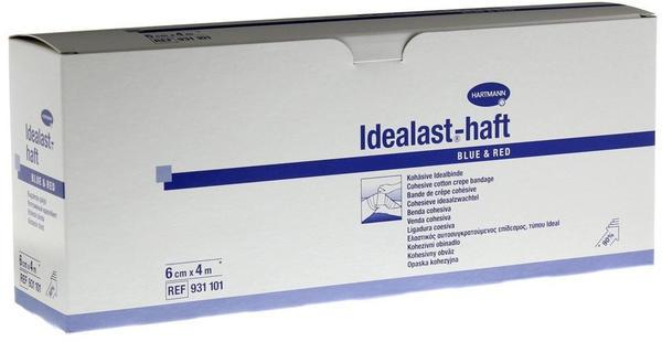 Hartmann Idealast-Haft color Binde 6 cm x 4 m sortiert (10 Stk.)