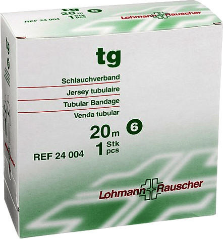 Lohmann & Rauscher TG Schlauchverband weiß 20 m Gr. 6