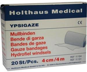 Holthaus Ypsigaze 4 cm x 4 m Mullbinde (20 Stk.)