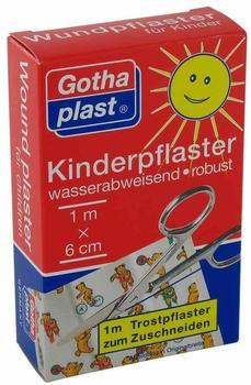 Gothaplast Kinderpflaster 6 cm x 1 m