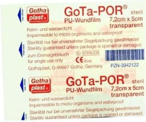 Gothaplast Gota-Por PU Wundfilm 7,2 x 5 cm Steril Pflaster