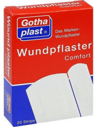 Gothaplast Wundpflaster Comfort 2 Größen (20 Stk.)