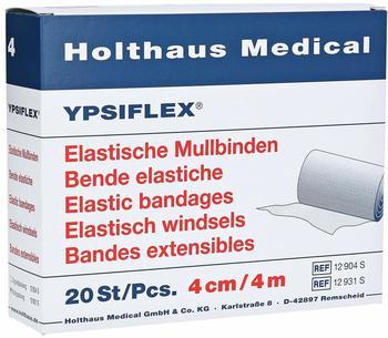 Holthaus Elastische Mullbinde 4 m x 4 cm (20 Stk.)