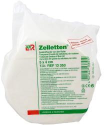 Lohmann & Rauscher Zelletten 5 x 4 cm Tupfer Gerollt Steril (500 Stk.)