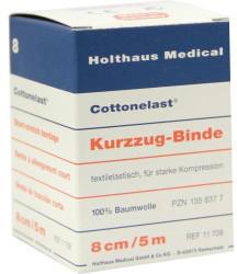 Holthaus Cottonelast 8 cm x 5 m Kurzzugbinde