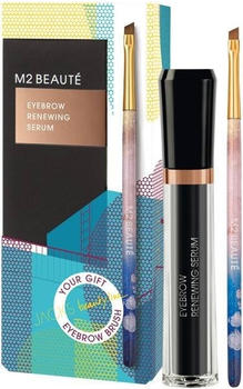 M2 Beauté M2 Summer Eyebrow Renewing Serum Summer Brush Set (2-tlg.)