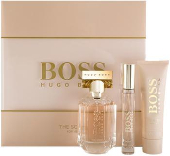 Hugo Boss The Scent for her Set (EdP 50ml + BL 50ml + EdP Mini 7,4ml)