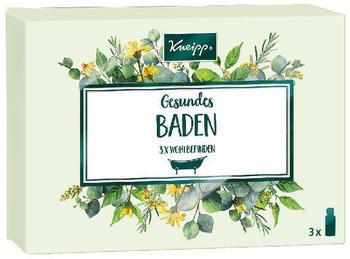 Kneipp Gesundes Baden 3x Wohlbefinden (3 x 20ml)