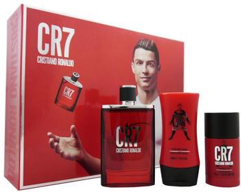 Cristiano Ronaldo CR7 Set (EDT 100ml + DS 75g + ASB 100ml)
