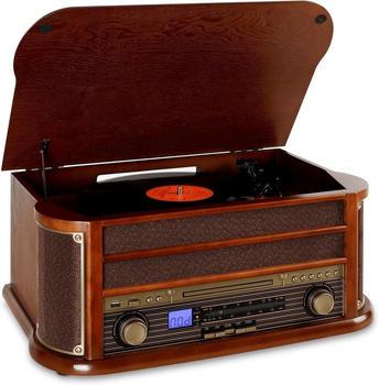 Auna Belle Epoque 1908 braun + Bluetooth