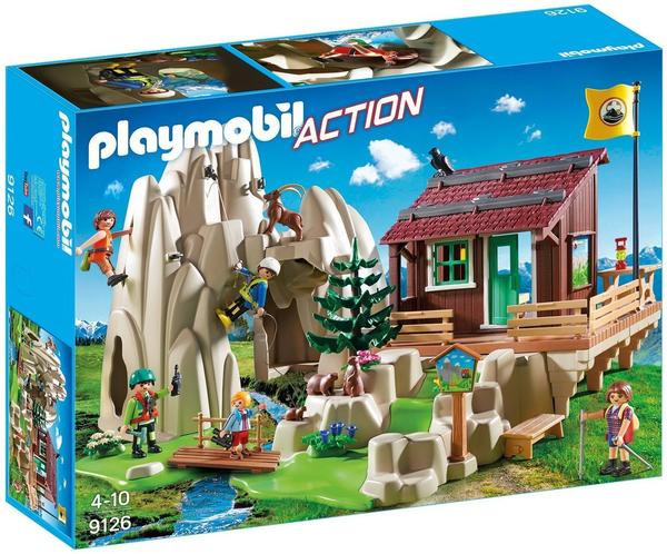 Playmobil Action - Kletterfels mit Berghütte (9126)