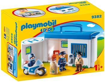 Playmobil 1.2.3 - Meine Mitnehm-Polizeistation (9382)
