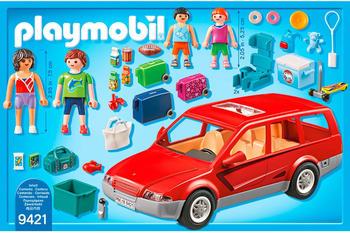 Playmobil Family Fun - Familien-PKW (9421)
