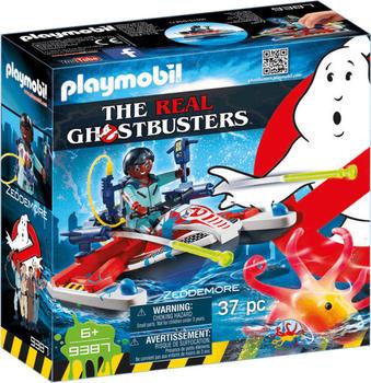 Playmobil Ghostbusters - Zeddemore mit Aqua Scooter (9387)