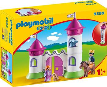 Playmobil 1.2.3 - Schlösschen mit Stapelturm (9389)