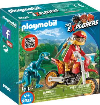 Playmobil Playmobil® Motocross-Bike mit Raptor