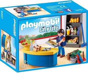 Playmobil Hausmeister mit Kiosk