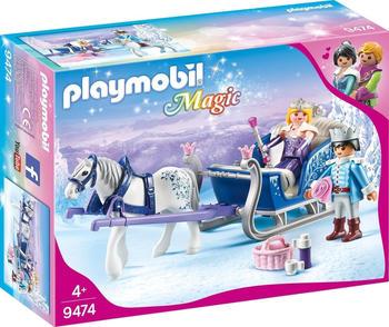 Playmobil Schlitten mit Königspaar