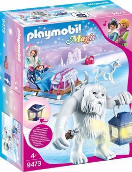 Playmobil Schneetroll mit Schlitten