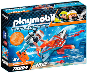 Playmobil Top Agents Spy Team Underwater Wing (70004)