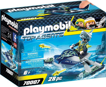 Playmobil Top Agents Team S.H.A.R.K. Rocket Rafter (70007)
