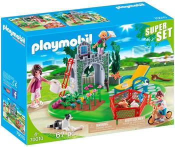 Playmobil PLAYMOBIL® 70010 SuperSet Familiengarten