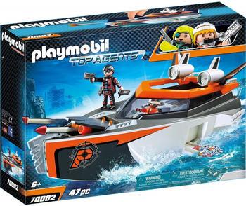 Playmobil Top Agents Spy Team Turboship (70002)