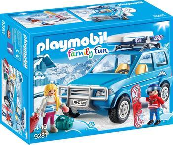 Playmobil Family Fun Auto mit Dachbox (9281)