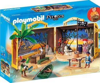 Playmobil Pirates - Mitnehm-Pirateninsel (70150)