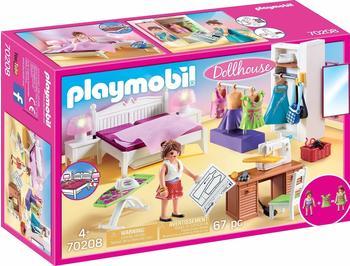 Playmobil Dollhouse - Schlafzimmer mit Nähecke (70208)