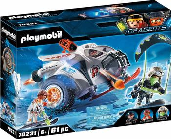 Playmobil Top Agents Spy Team Schneegleiter (70231)