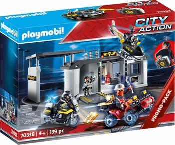 Playmobil City Action - Große Mitnehm-SEK-Zentrale 70338