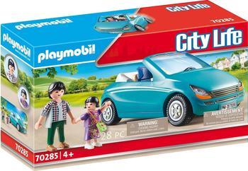 Playmobil City Life - Papa und Kind mit Cabrio (70285)