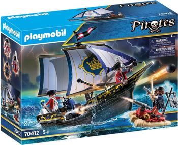 Playmobil Pirates Rotrocksegler (70412)
