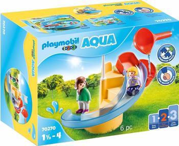 Playmobil 1.2.3 Wasserrutsche 70270
