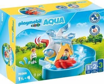 Playmobil 1.2.3 - Aqua Wasserrad mit Karussel (70268)