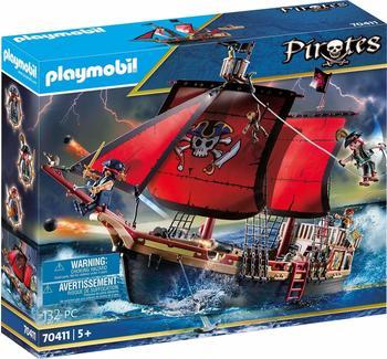 Playmobil Pirates - Totenkopf-Kampfschiff (70411)