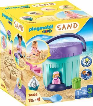 Playmobil 1.2.3 Kreativset Sandbäckerei 70339
