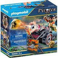 Playmobil Pirates - Pirat mit Kanone (70415)