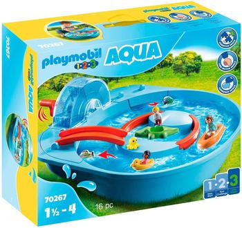Playmobil 1.2.3 - Aqua Fröhliche Wasserbahn (70267)